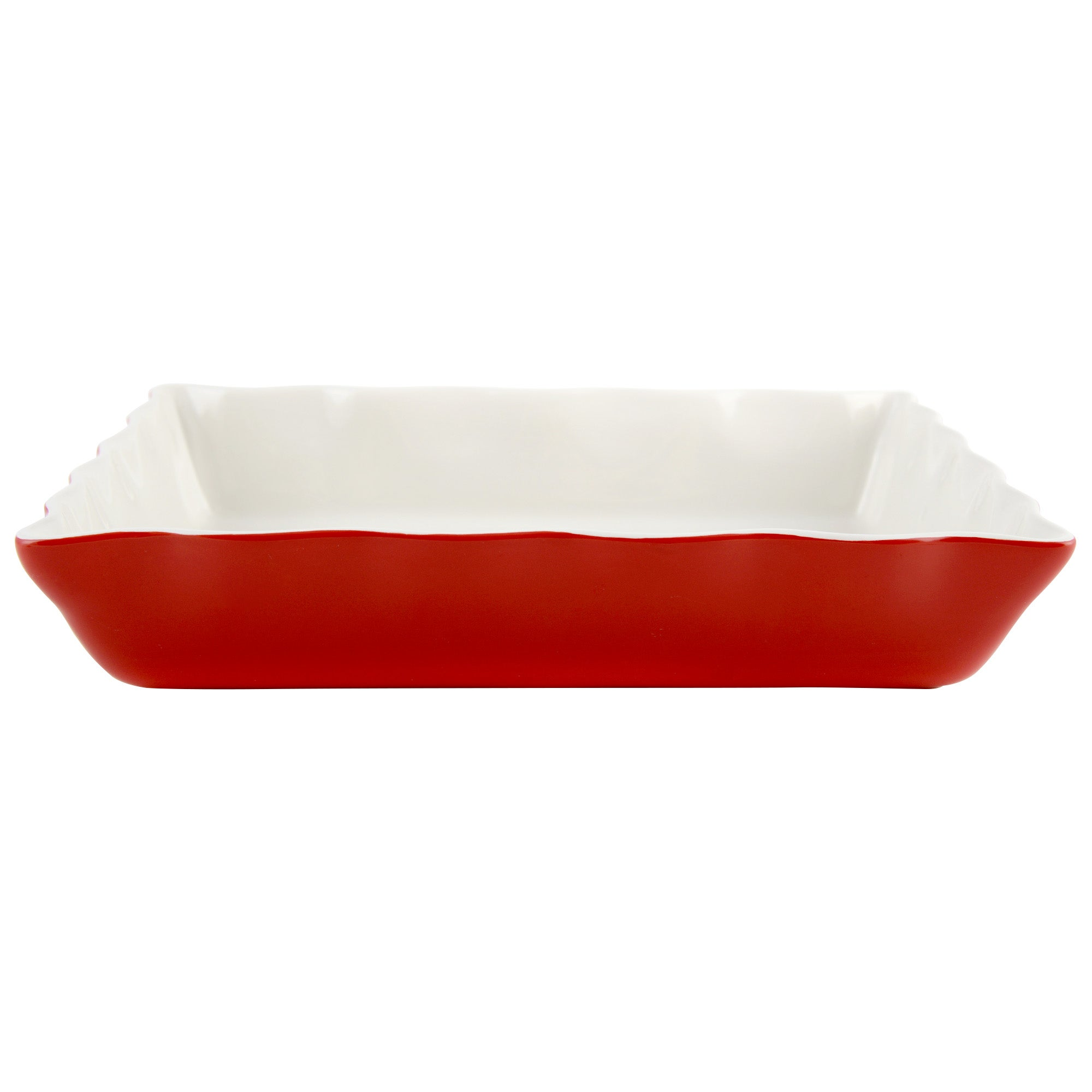 Red Farmstead Collection Rectangular Roaster