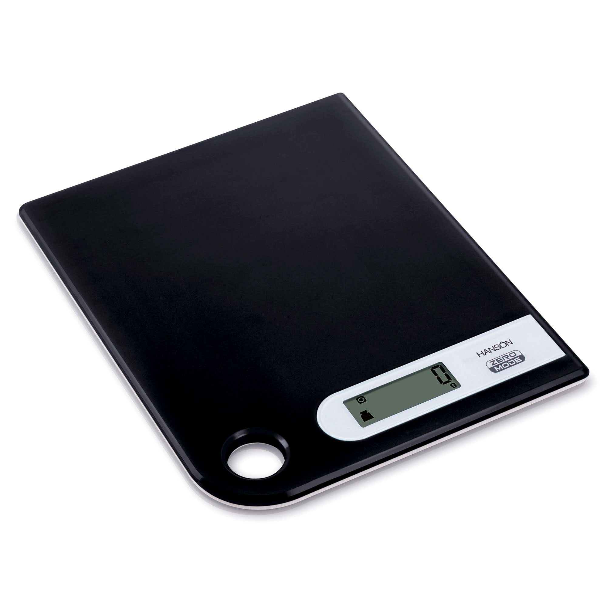 Hanson Black 15kg Kitchen Scales