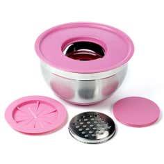 Spectrum Pink 24cm Mixing Bowl System