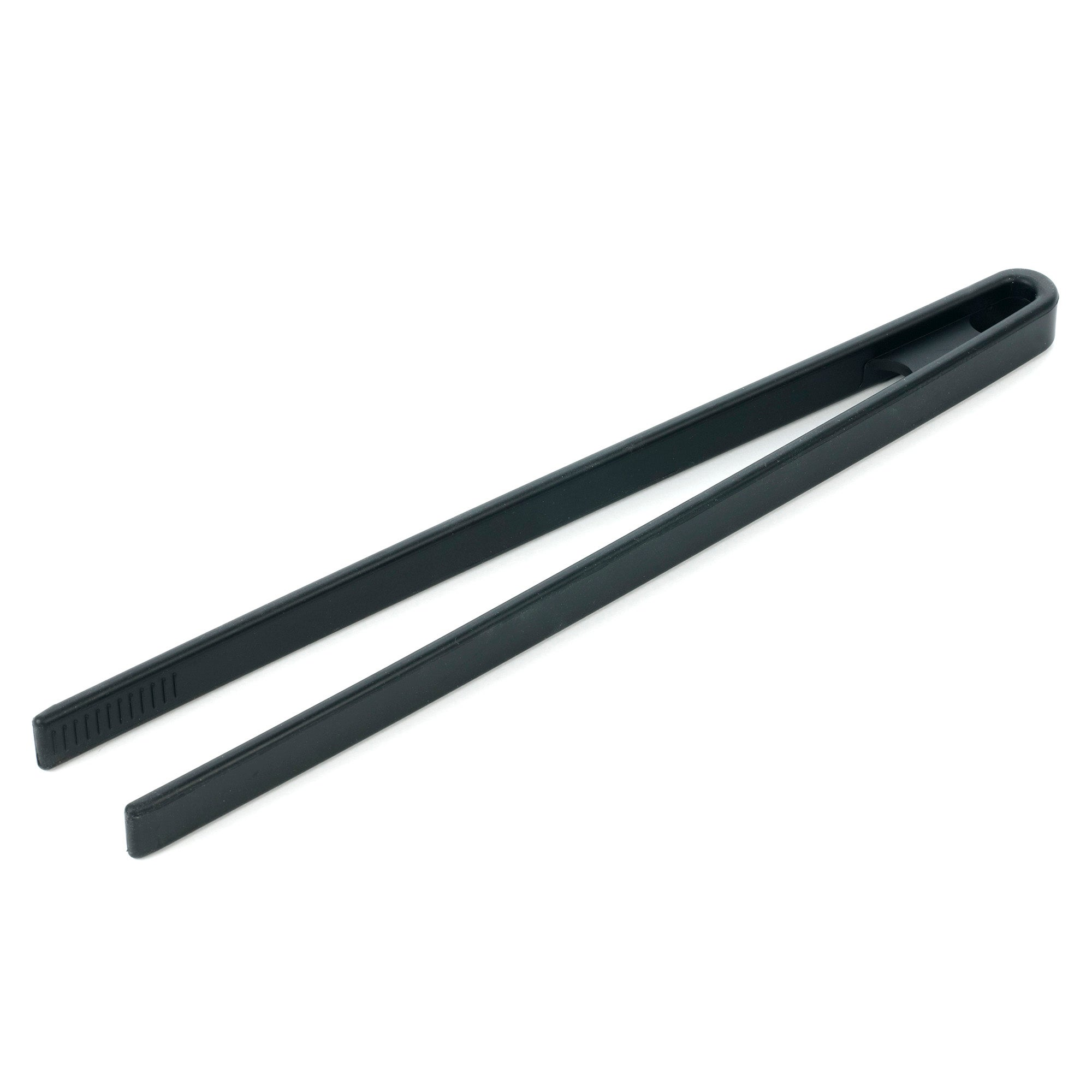 Black Spectrum Silicone Food Tongs