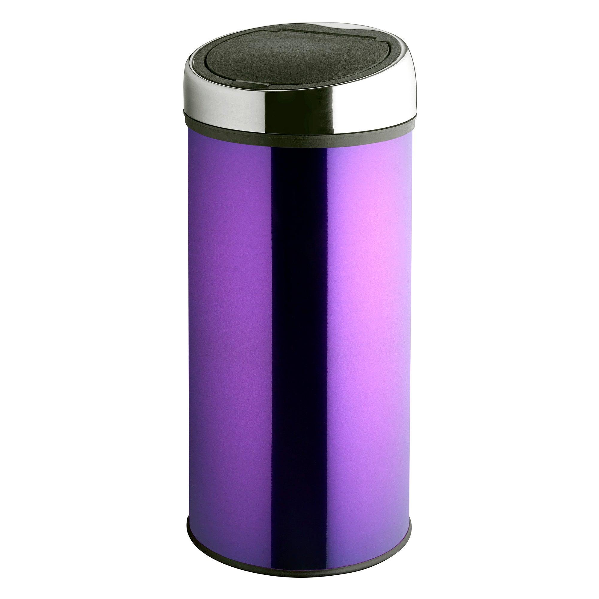 Purple Spectrum Collection 30 Litre Press Top Bin