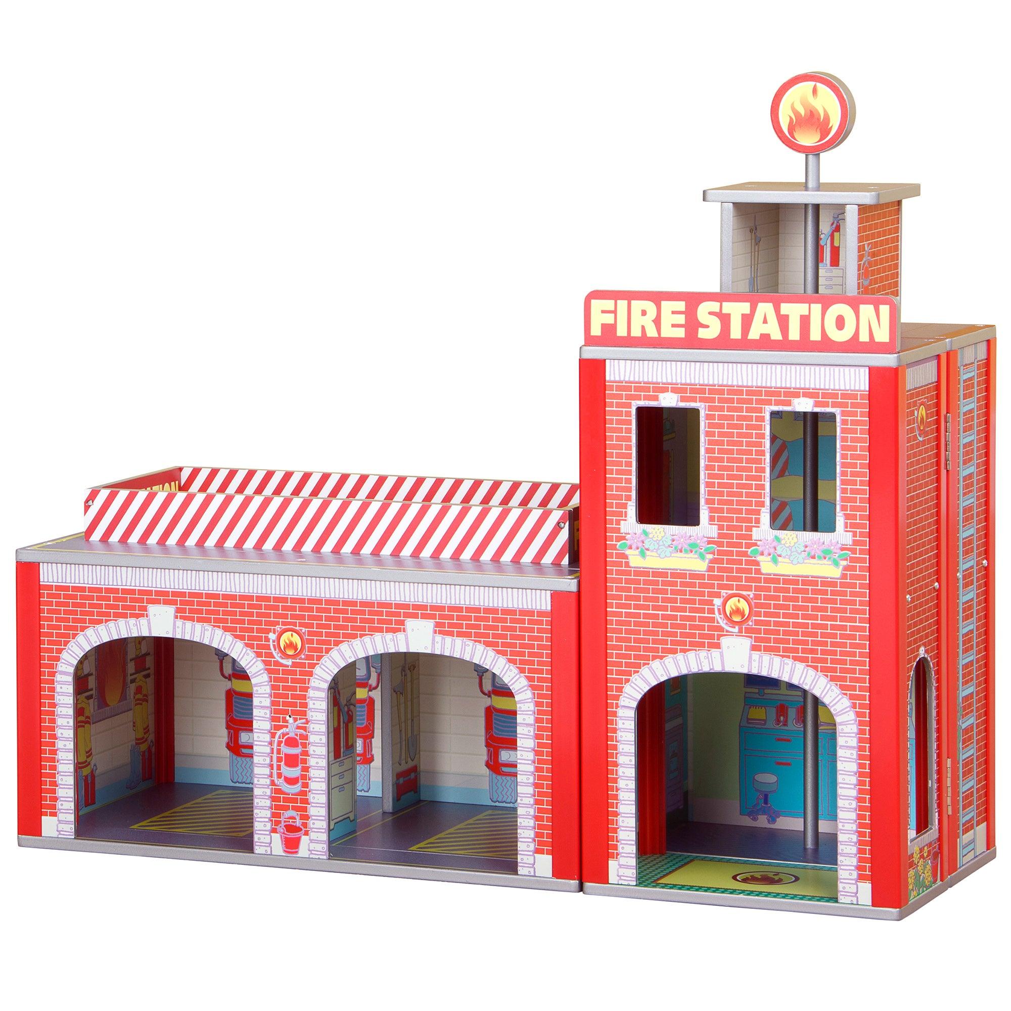 Plum Ingham Fire Station Play Set