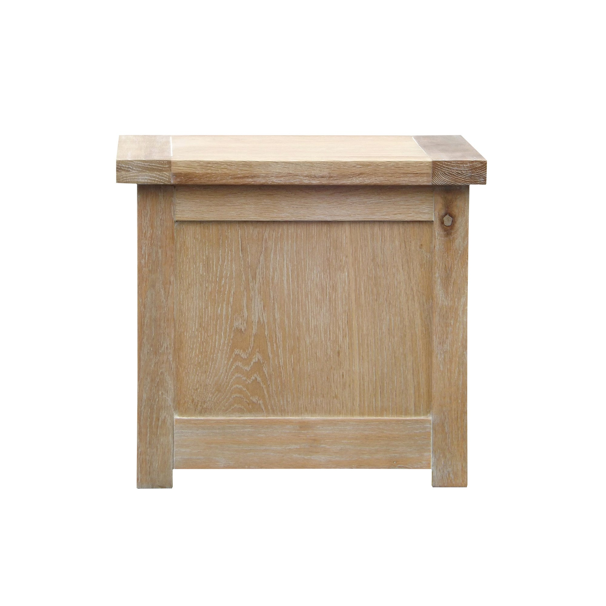 Henley Washed Oak Small Storage Trunk