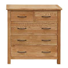 Sidmouth Oak 5 Drawer Chest
