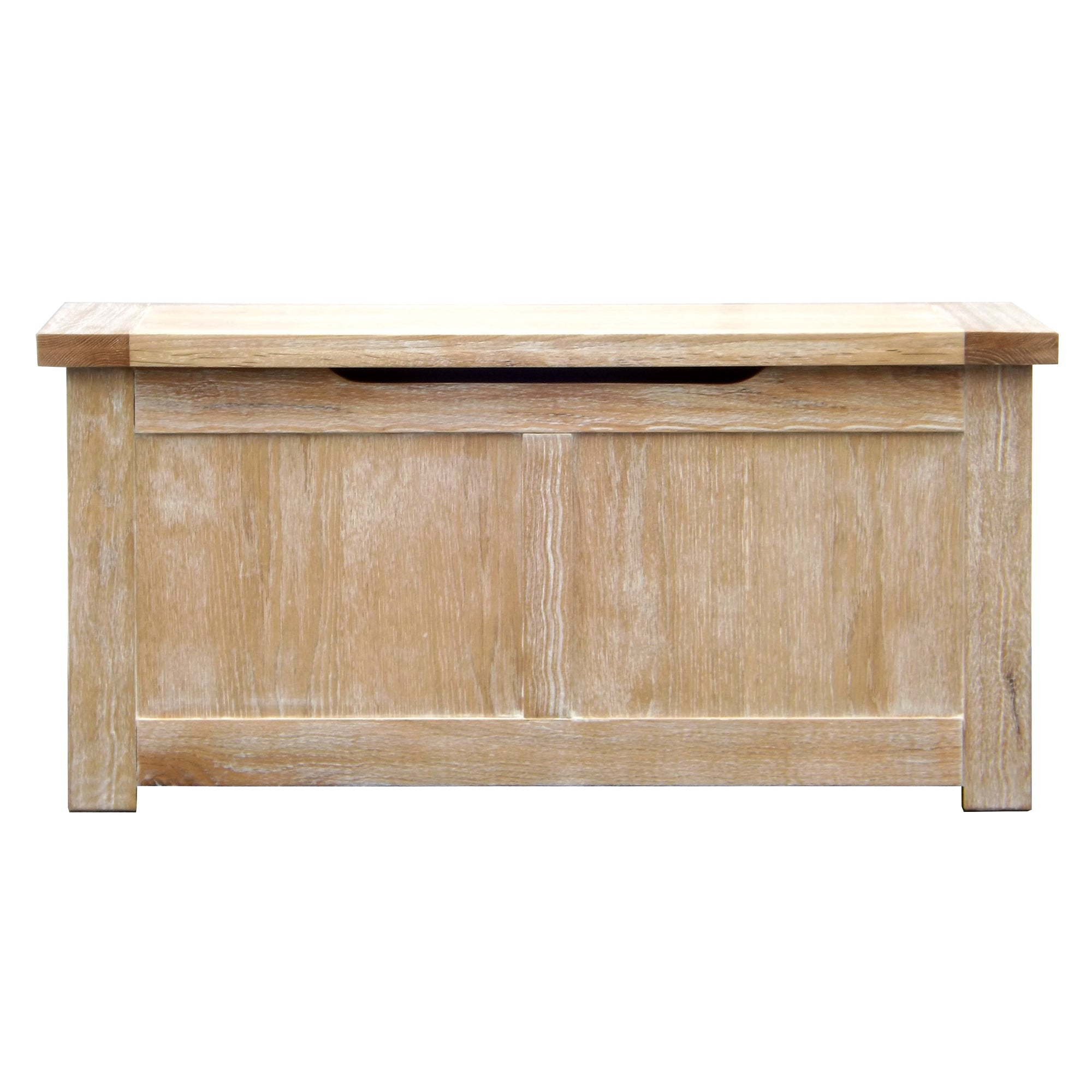 Henley Oak Large Storage Trunk