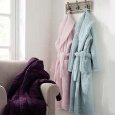 Ladies Teddy Bear Bathrobe