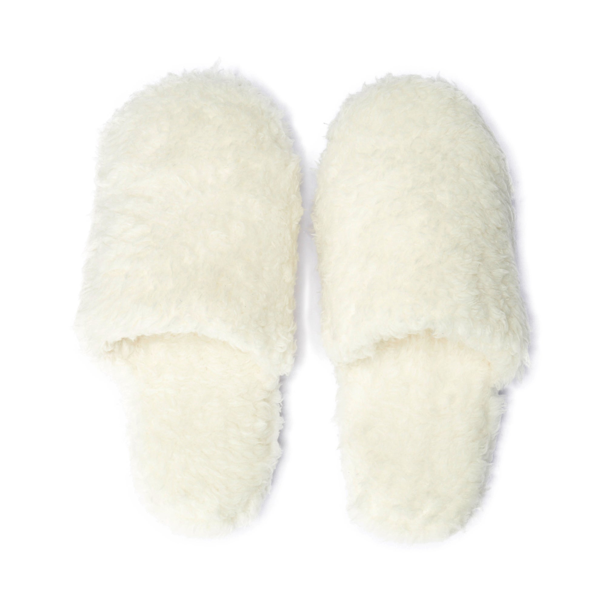 Ladies Teddy Bear Slippers