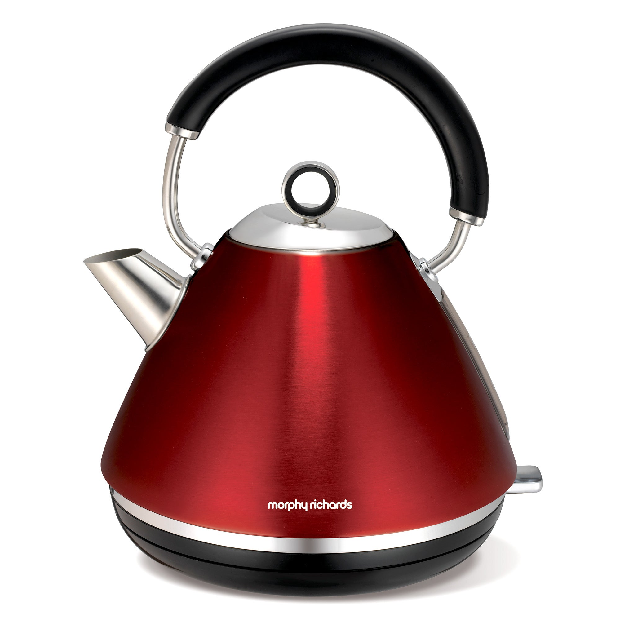 Morphy Richards Accents 102004 Red Traditional Kettle