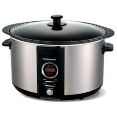 Morphy Richards Accents 461003 6.5L Stainless Steel Silver Digital Slow Cooker