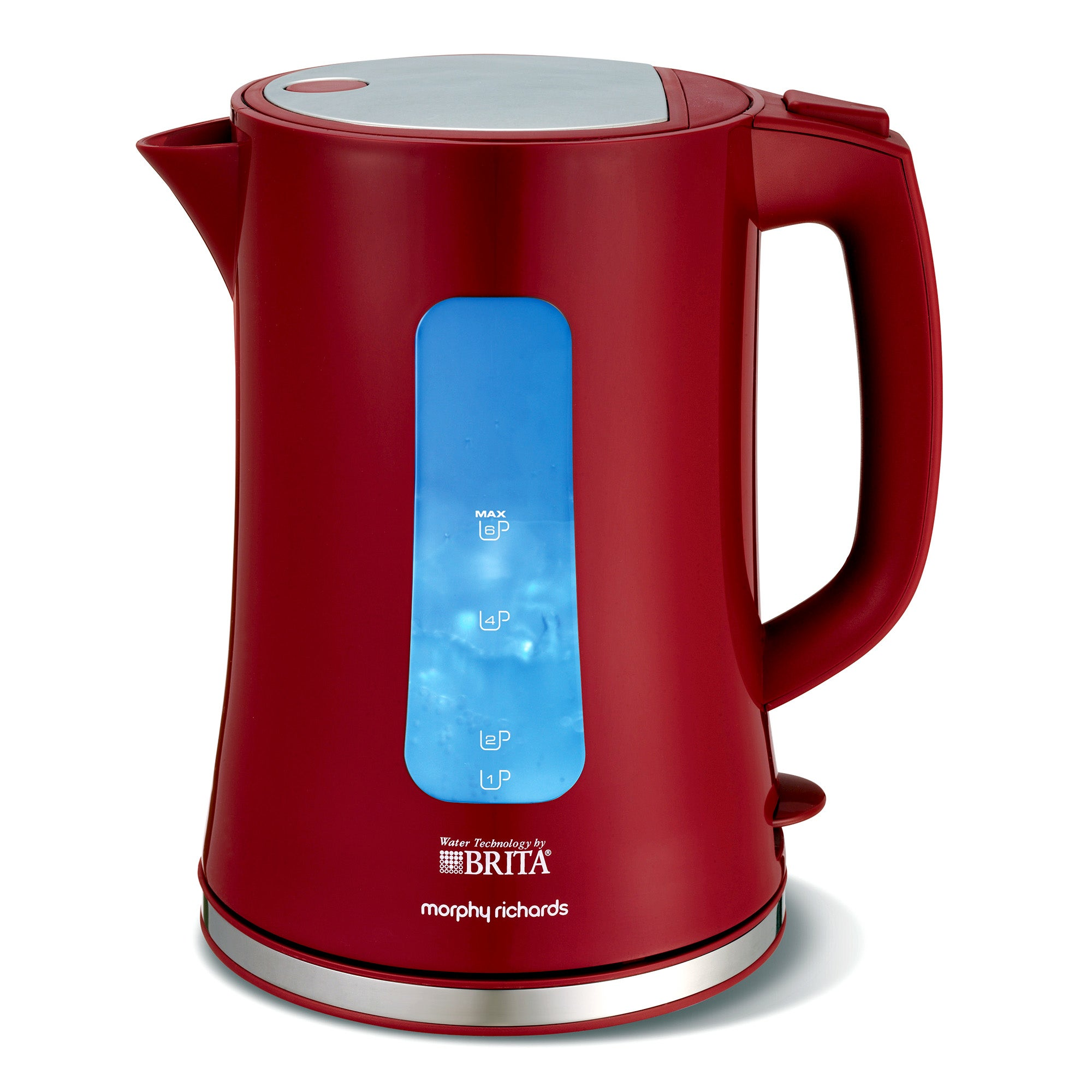 Morphy Richards Accents 120001 Brita Filter Red Jug Kettle