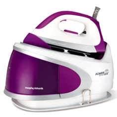 Morphy Richards 5 Bar 2400w Ionic Soleplate Plum Steam Generator Iron