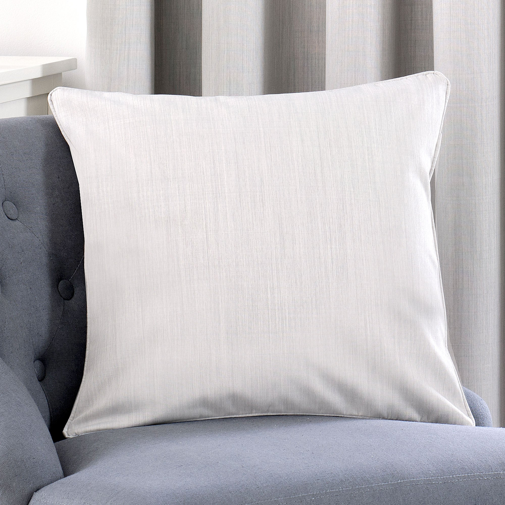 Grey Filled Cushion