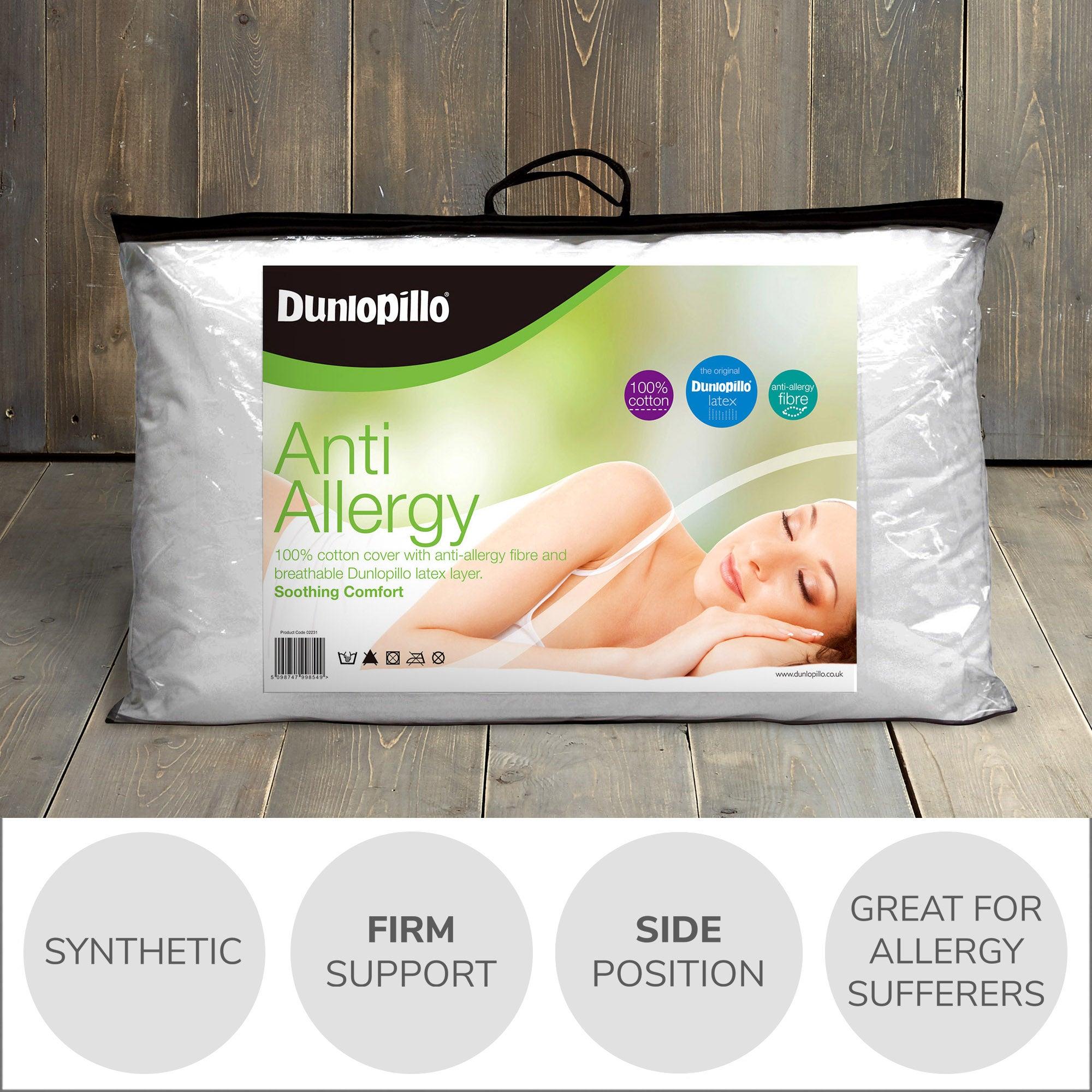 Dunlopillo Anti-Allergy Pillow
