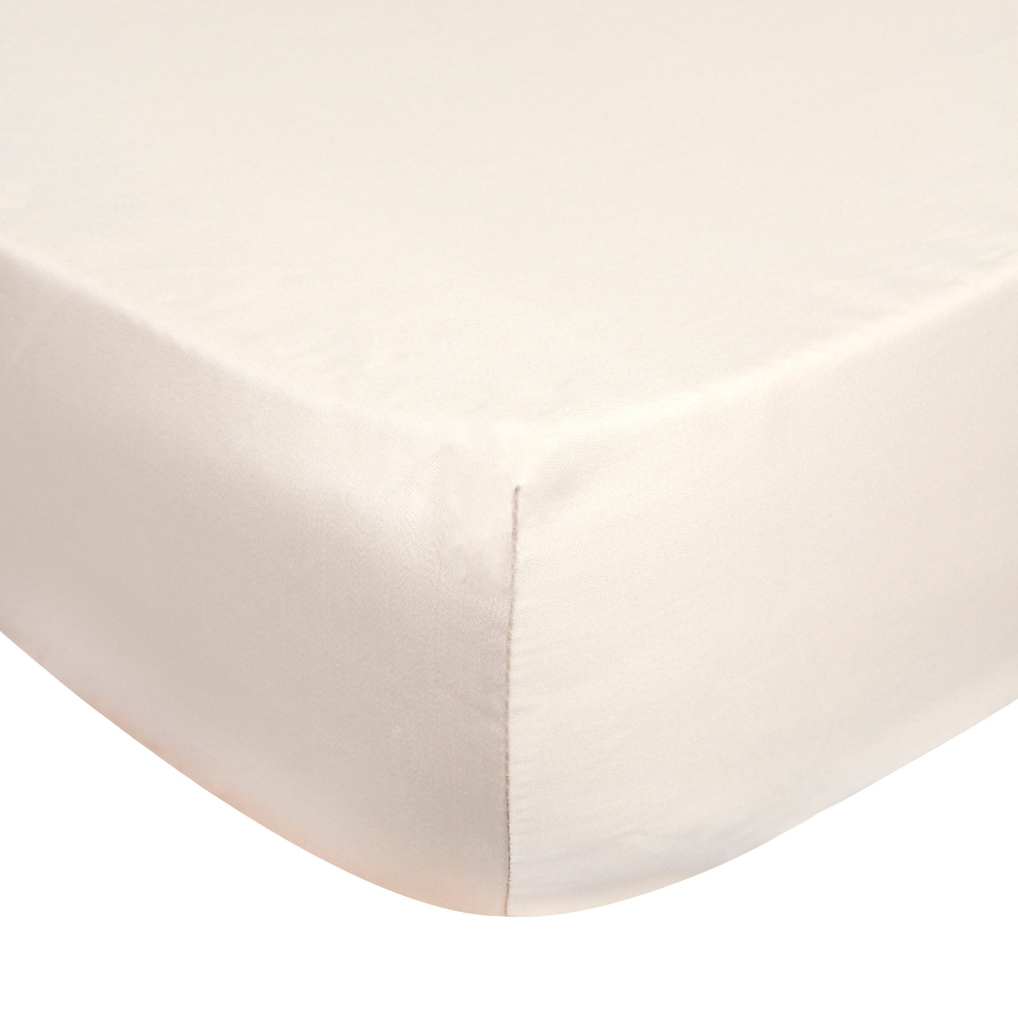 Dorma Camel 350 Thread Count Plain Dye Bed Linen Collection Extra Deep Fitted Sheet