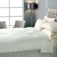 Hotel Cream Chelsea 400 Thread Count Collection Duvet Cover