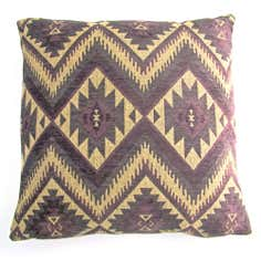 Plum Tonto Cushion Cover
