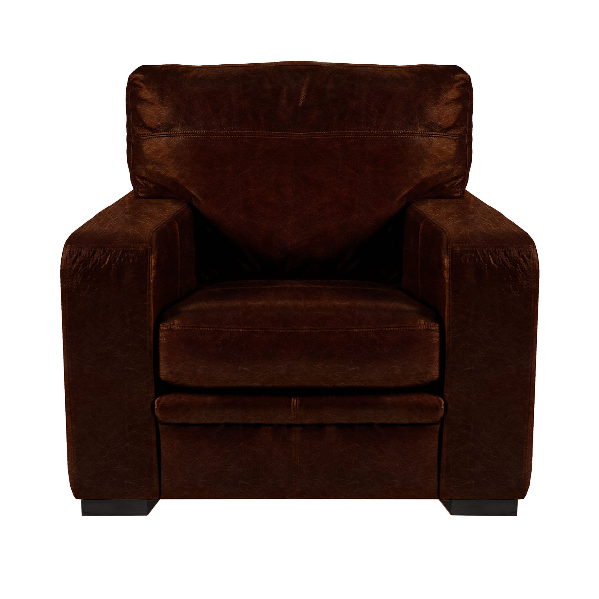 Hendon Collection New England Leather Armchair