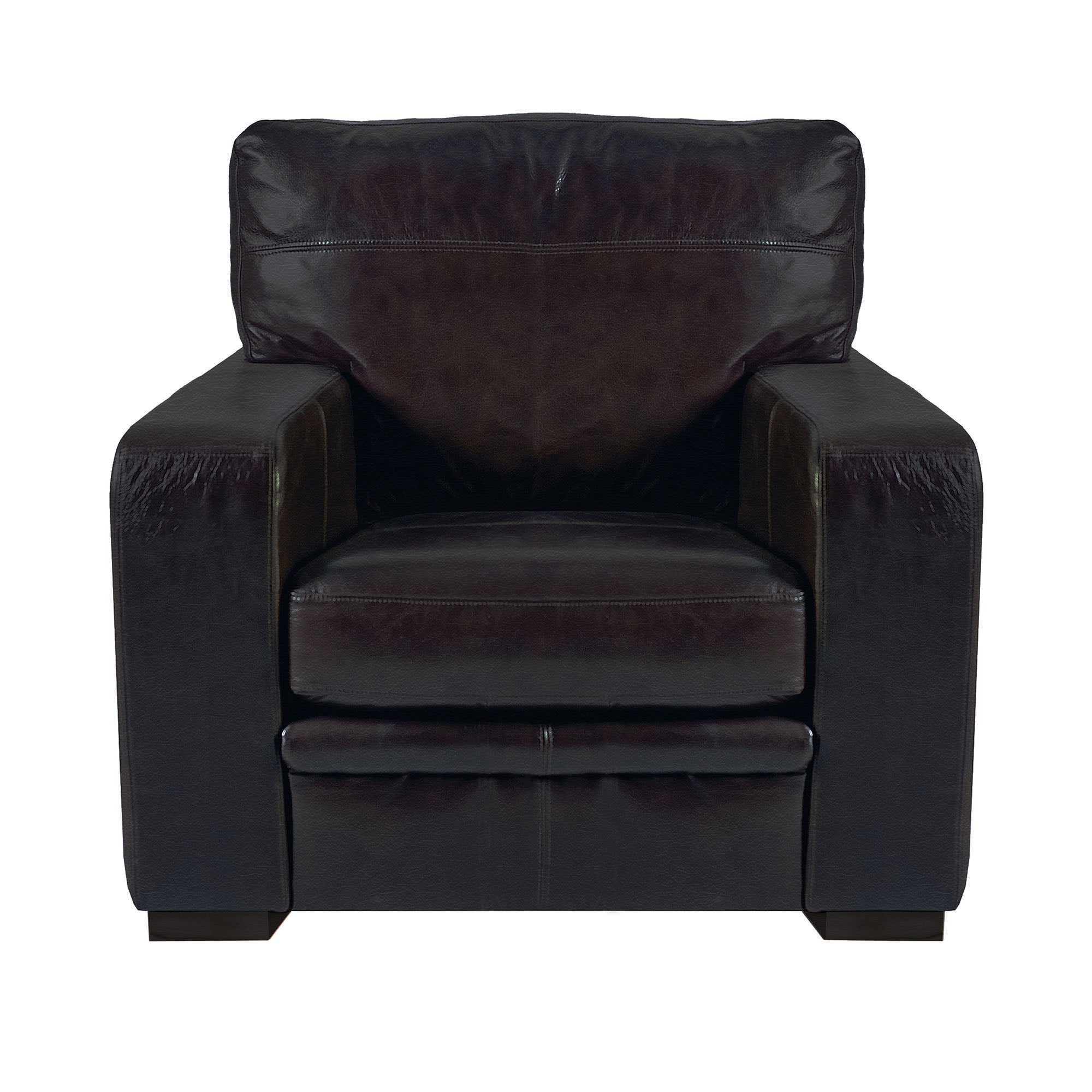 Hendon Collection Madras Leather Armchair