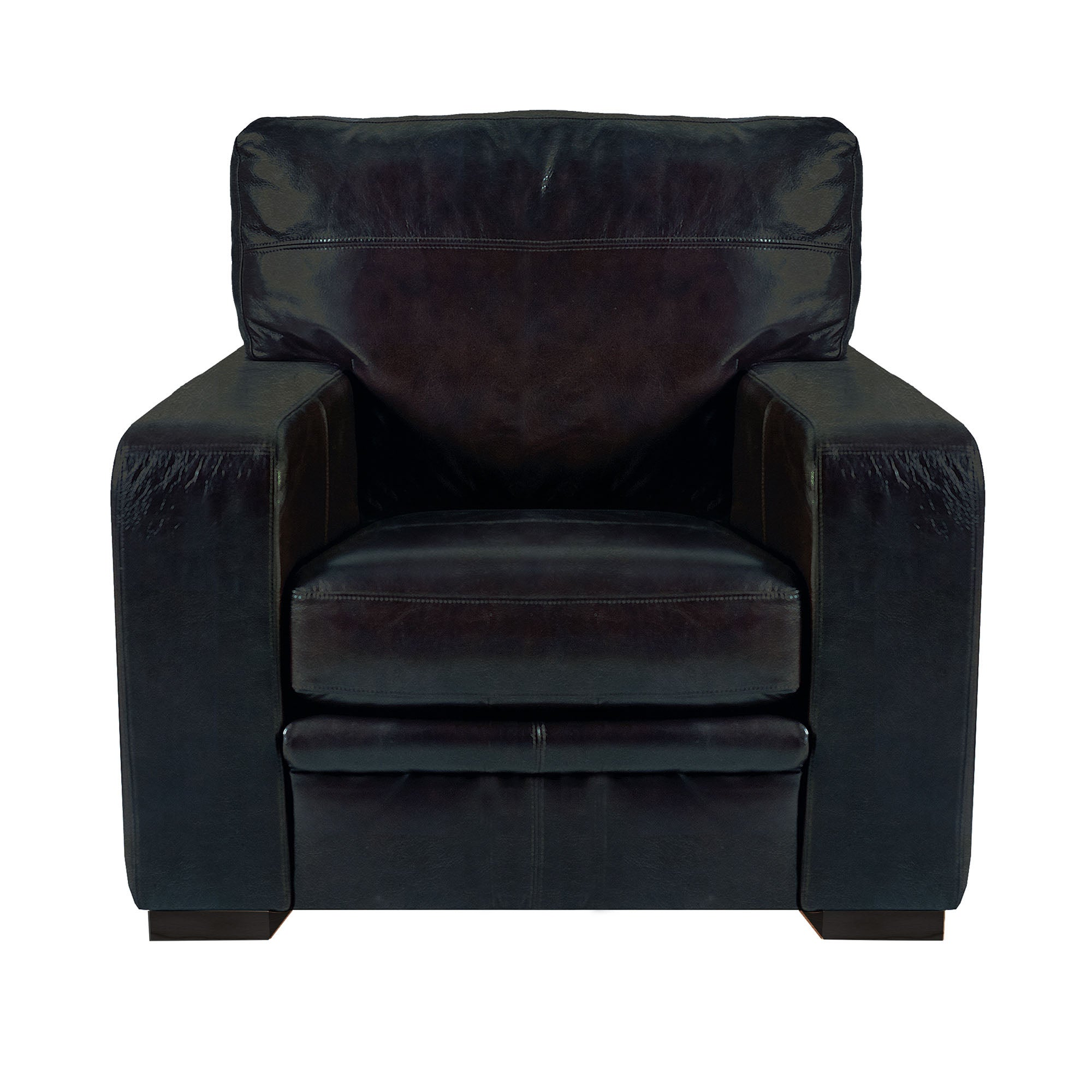 Hendon Collection Rimini Leather Armchair