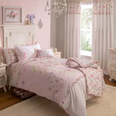 Dorma Woodland Collection Pink Duvet Cover Set