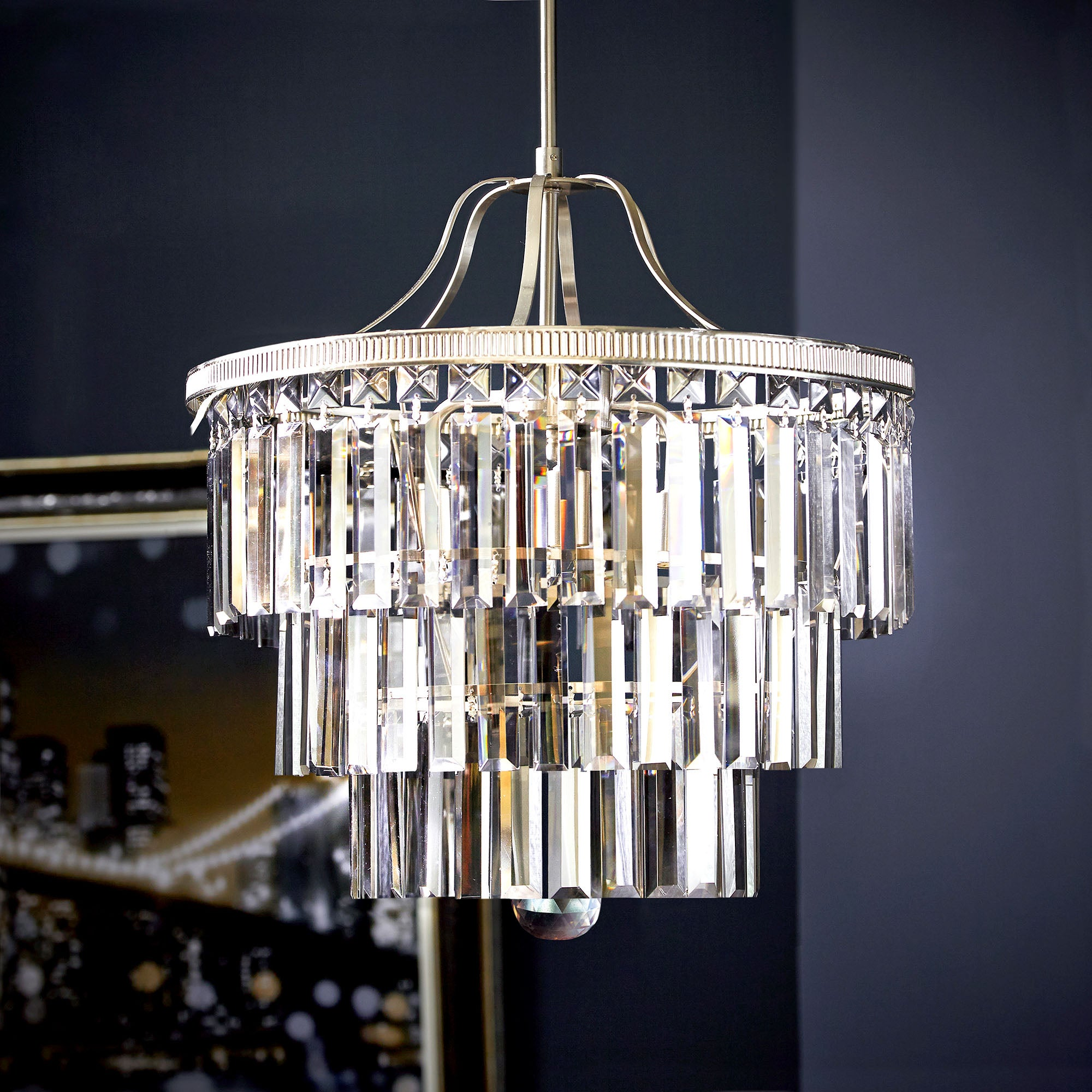 Dorma Fitzgerald 3 Light Chandelier