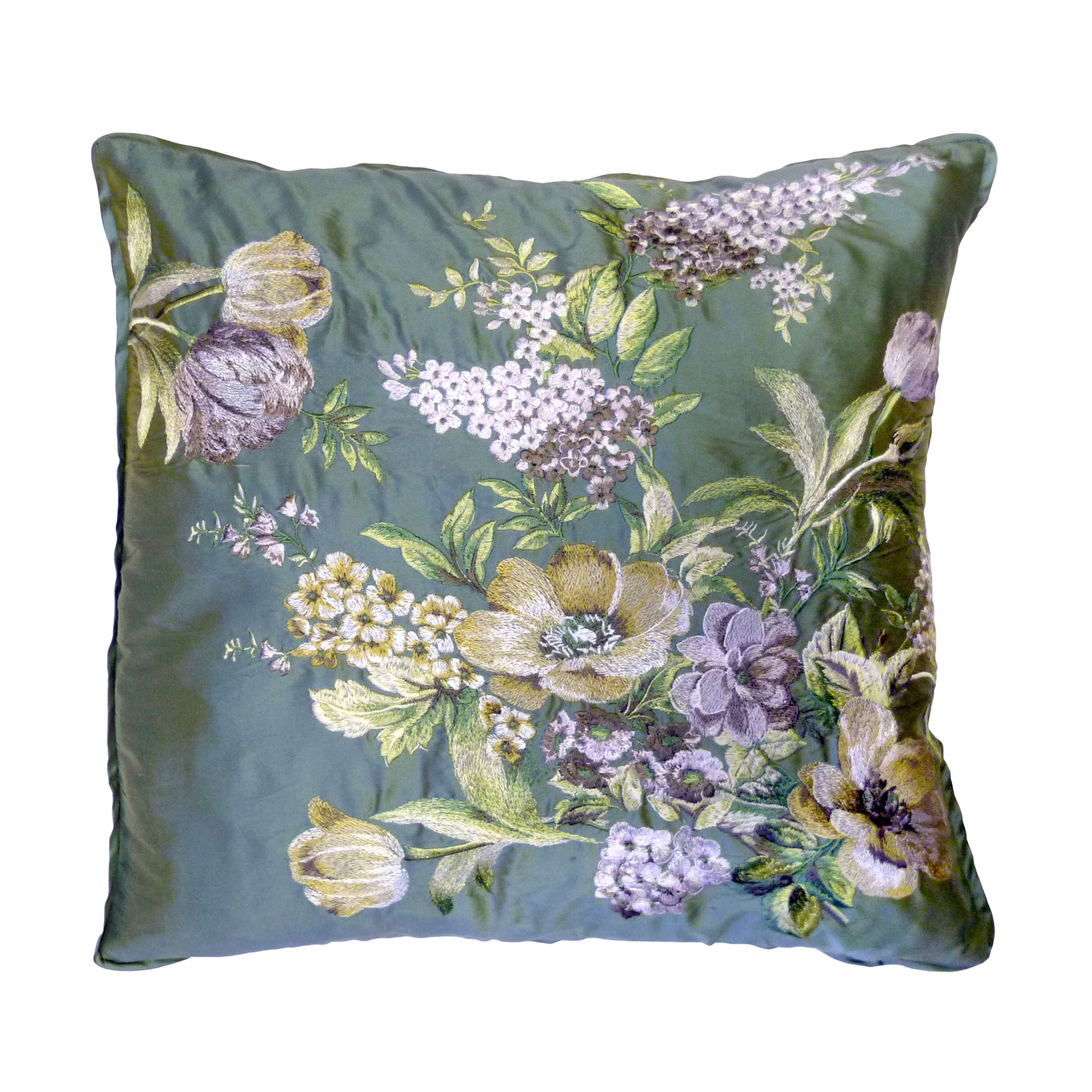 Dorma Brympton Embroidered Cushion