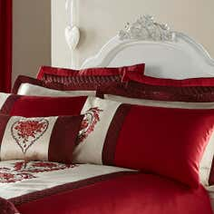 Red Beatrix Collection Pillowsham