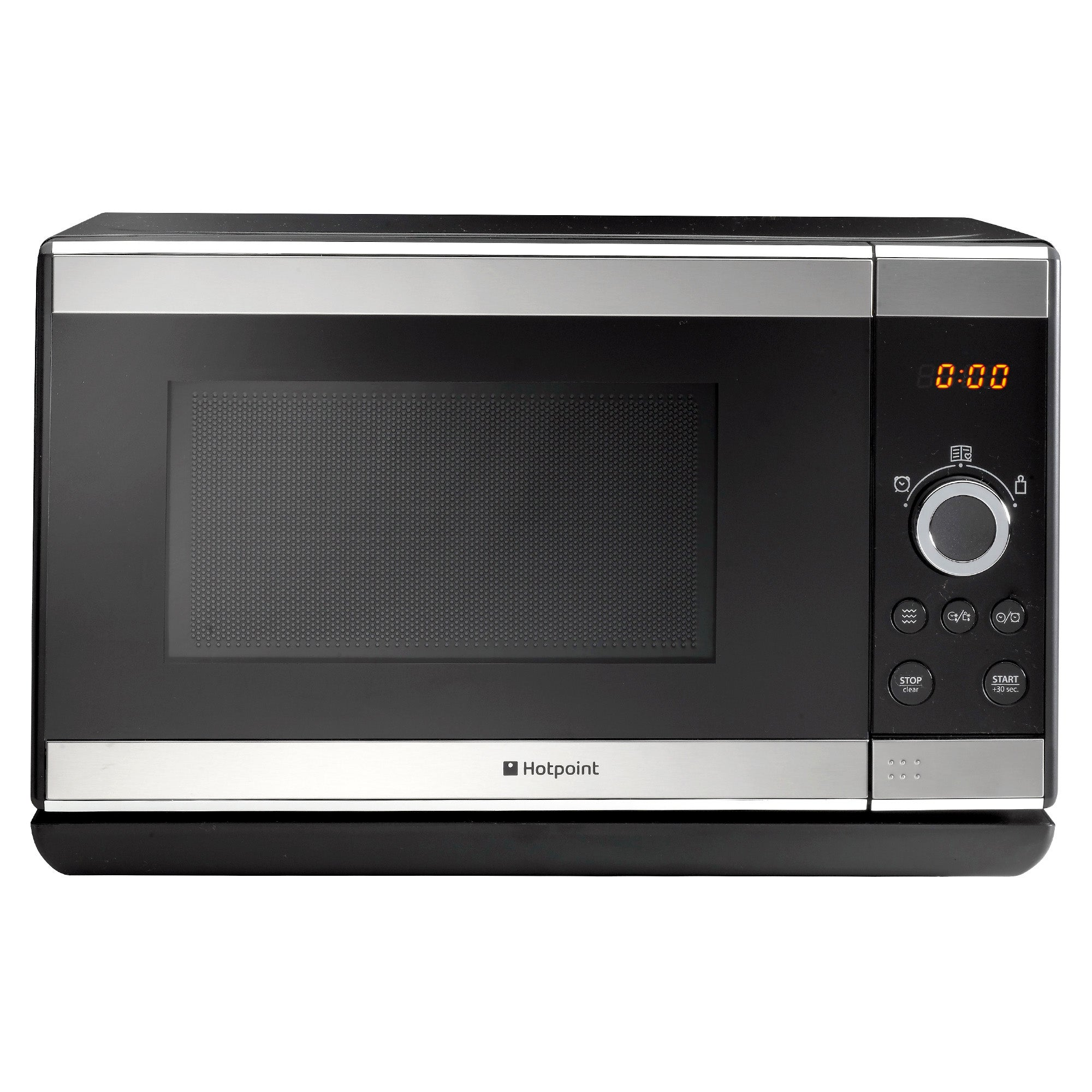 Hotpoint MWH2021 20L 800w Stainless Steel Silver Solo Microwave Stainless Steel