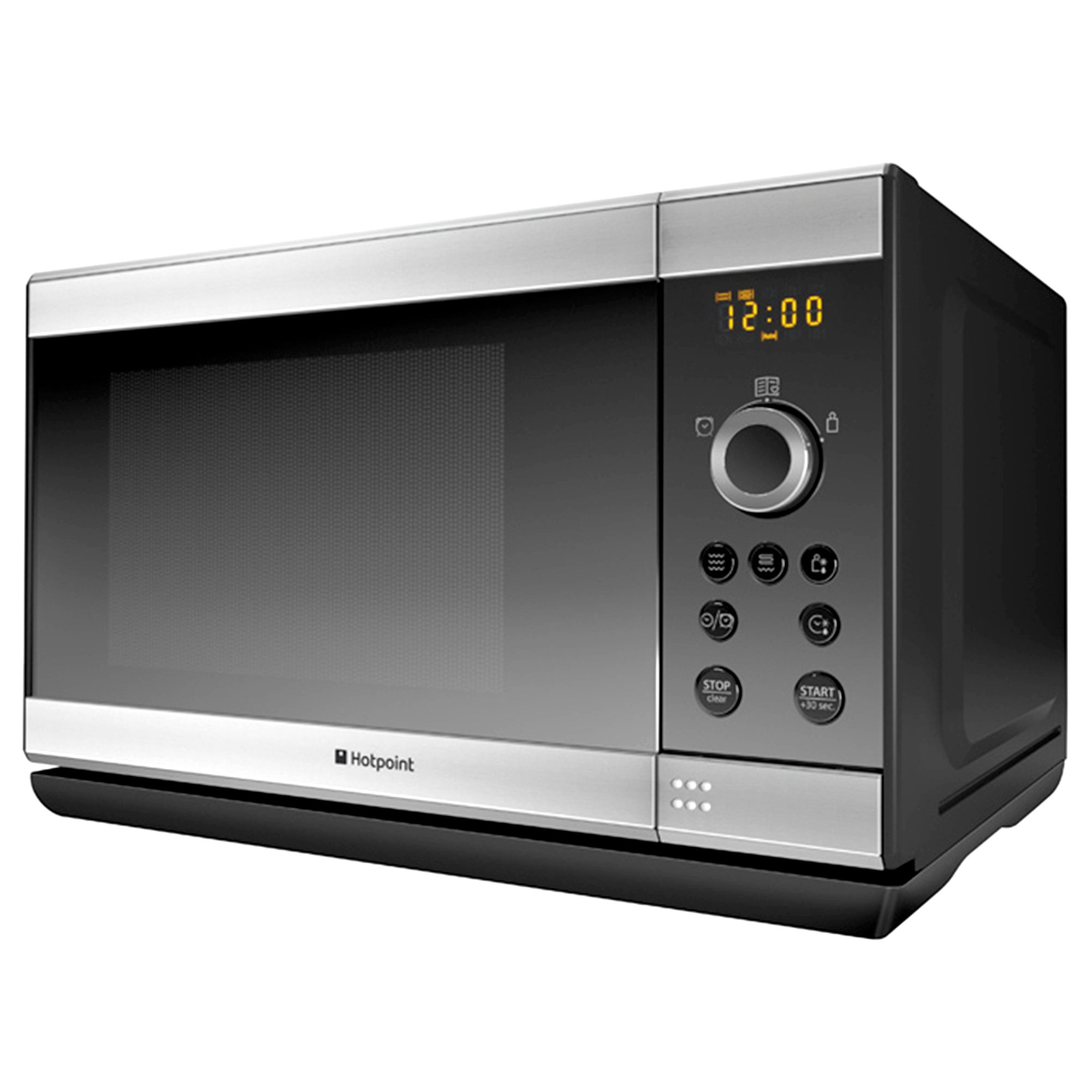Hotpoint MWH2322X 23L 800w Stainless Steel Silver Grill Microwave