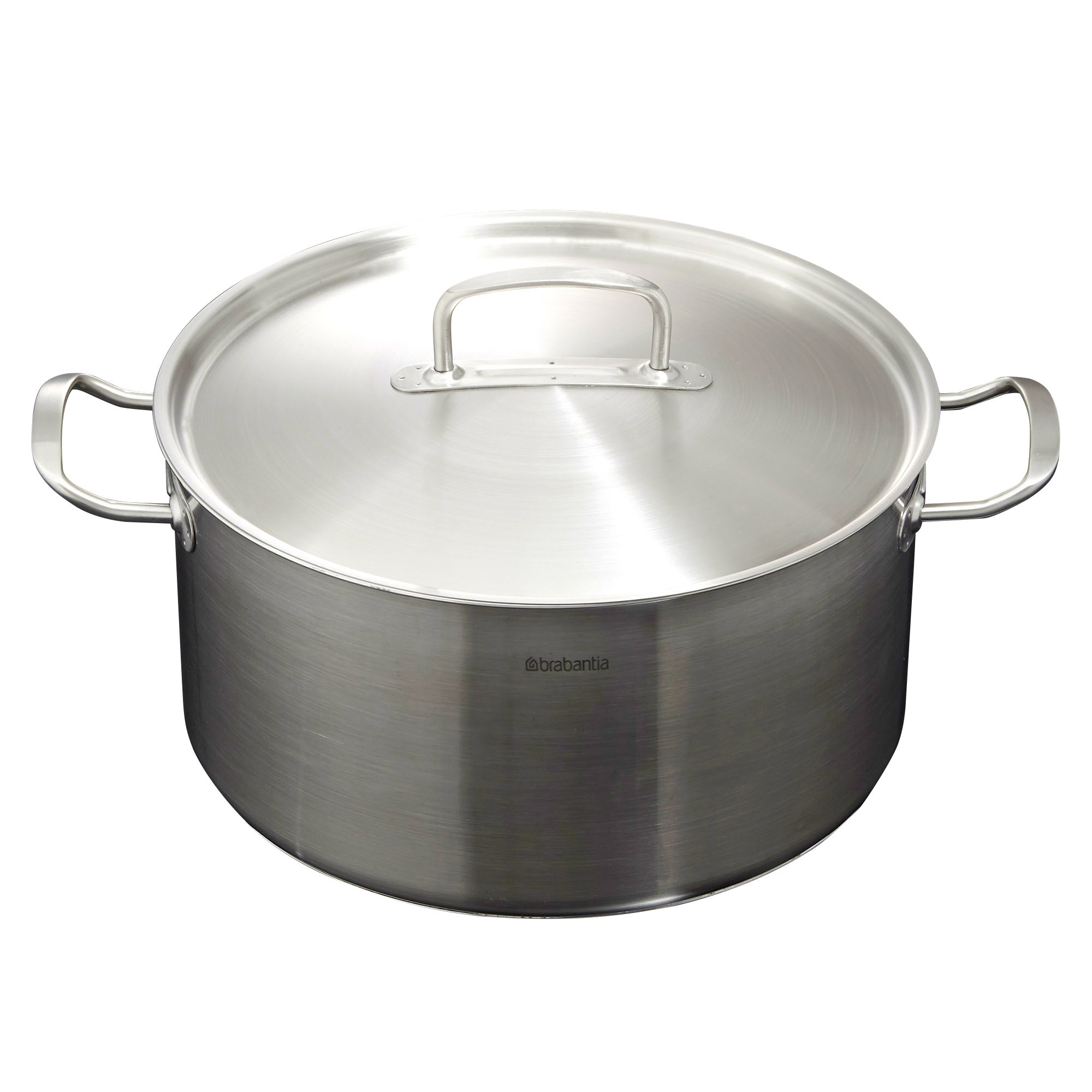 Brabantia Stainless Steel Covered Cassserole Pan