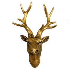 Bronze Stag Head