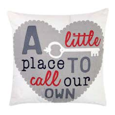 A Little Place to Call Our Own Cushion