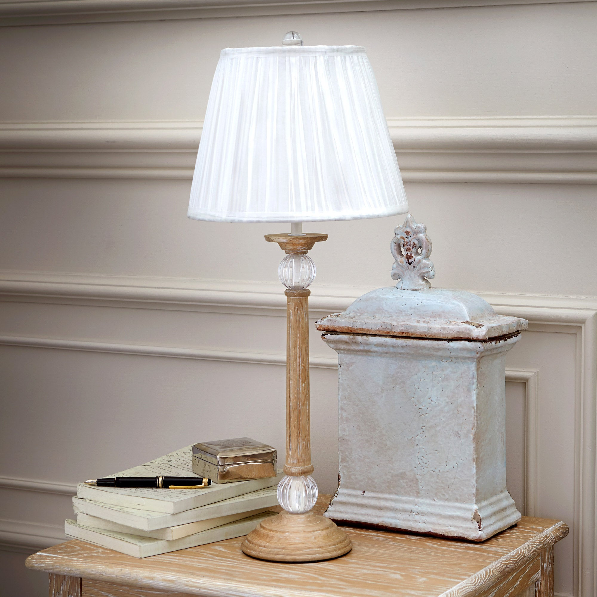 Dorma Lynwood Natural Table Lamp