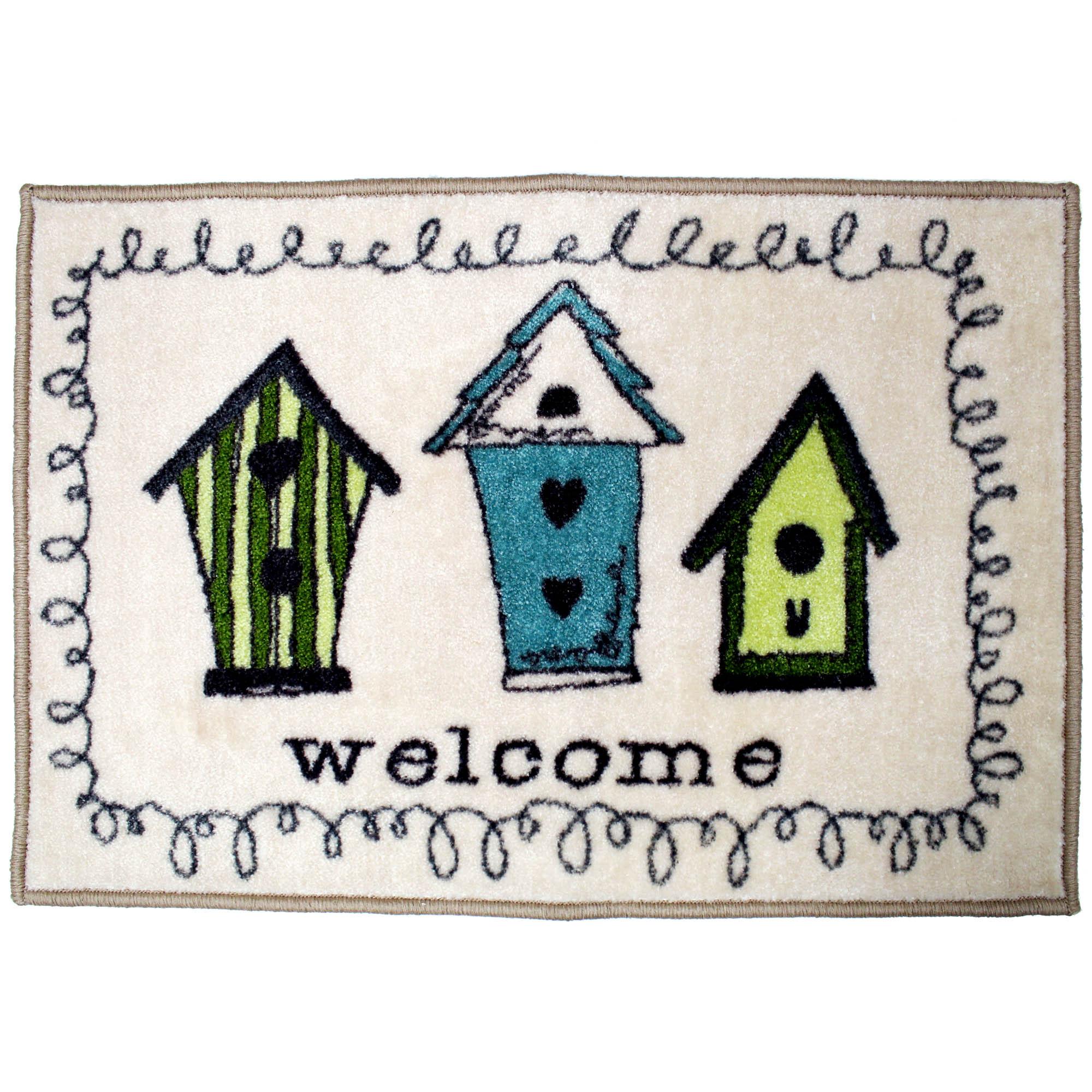 Birdhouse Washable Doormat