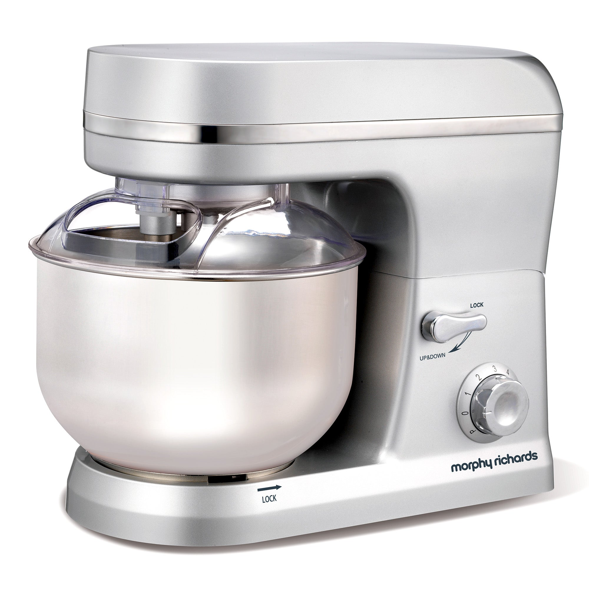 Morphy Richards Accents 400006 Silver Stand Mixer