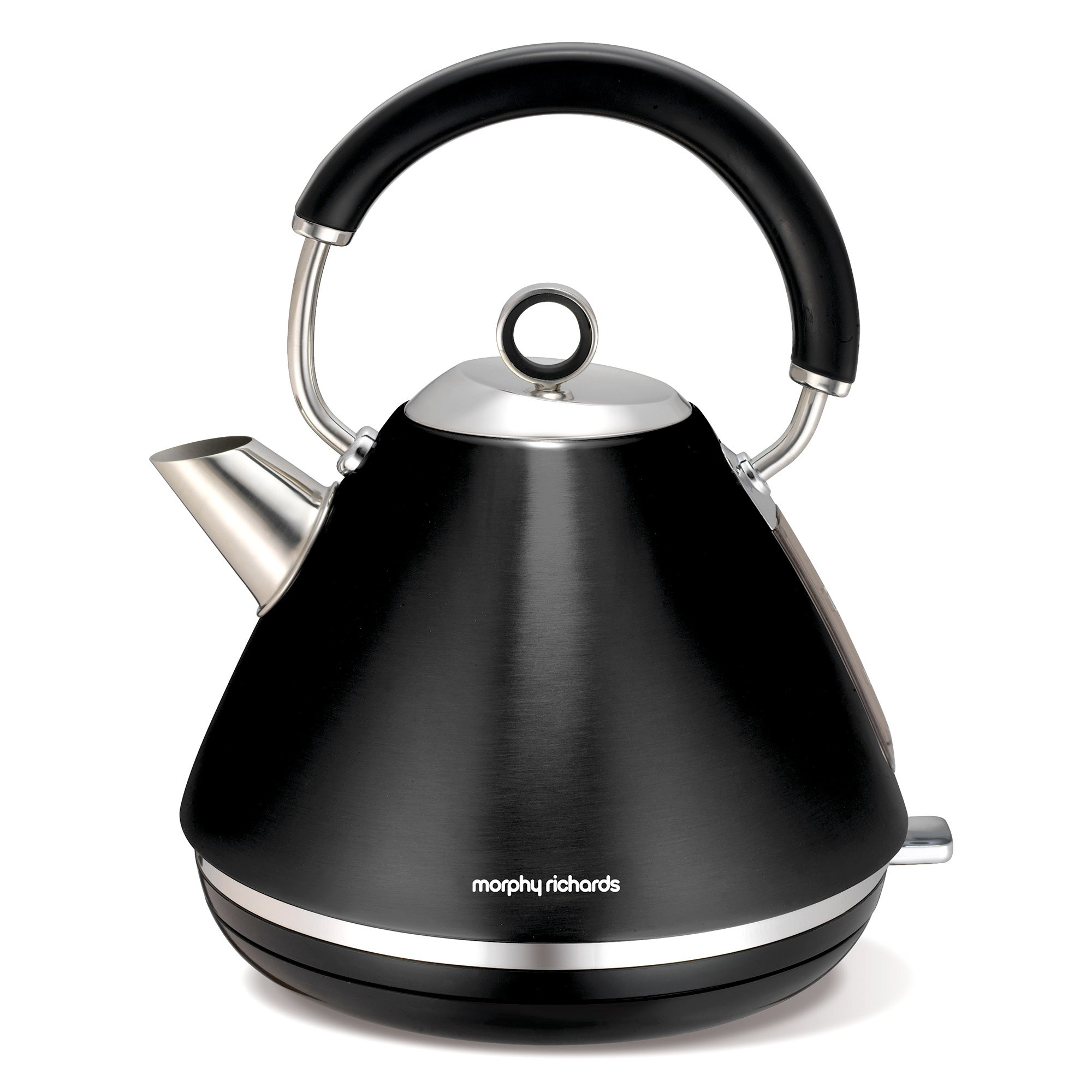 Morphy Richards Accents 102002 Black Traditional Kettle
