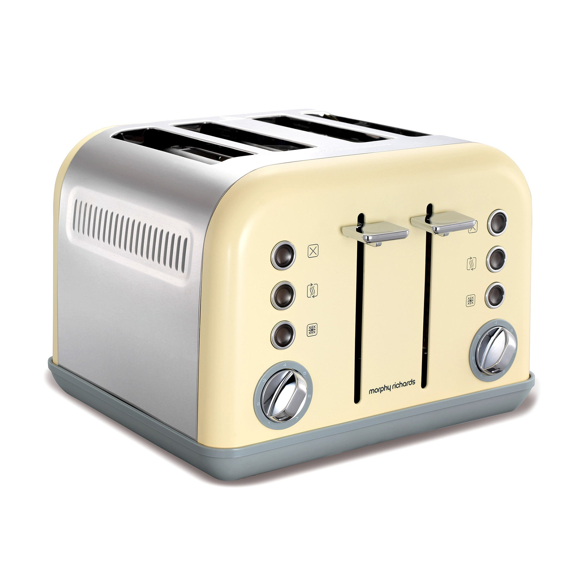 Morphy Richards Accents 242003 Cream 4 Slice Toaster