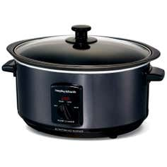 Morphy Richards Accents 48703 3.5L Black Slow Cooker