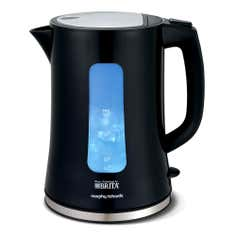 Morphy Richards Accents 120003 Brita Filter Black Jug Kettle