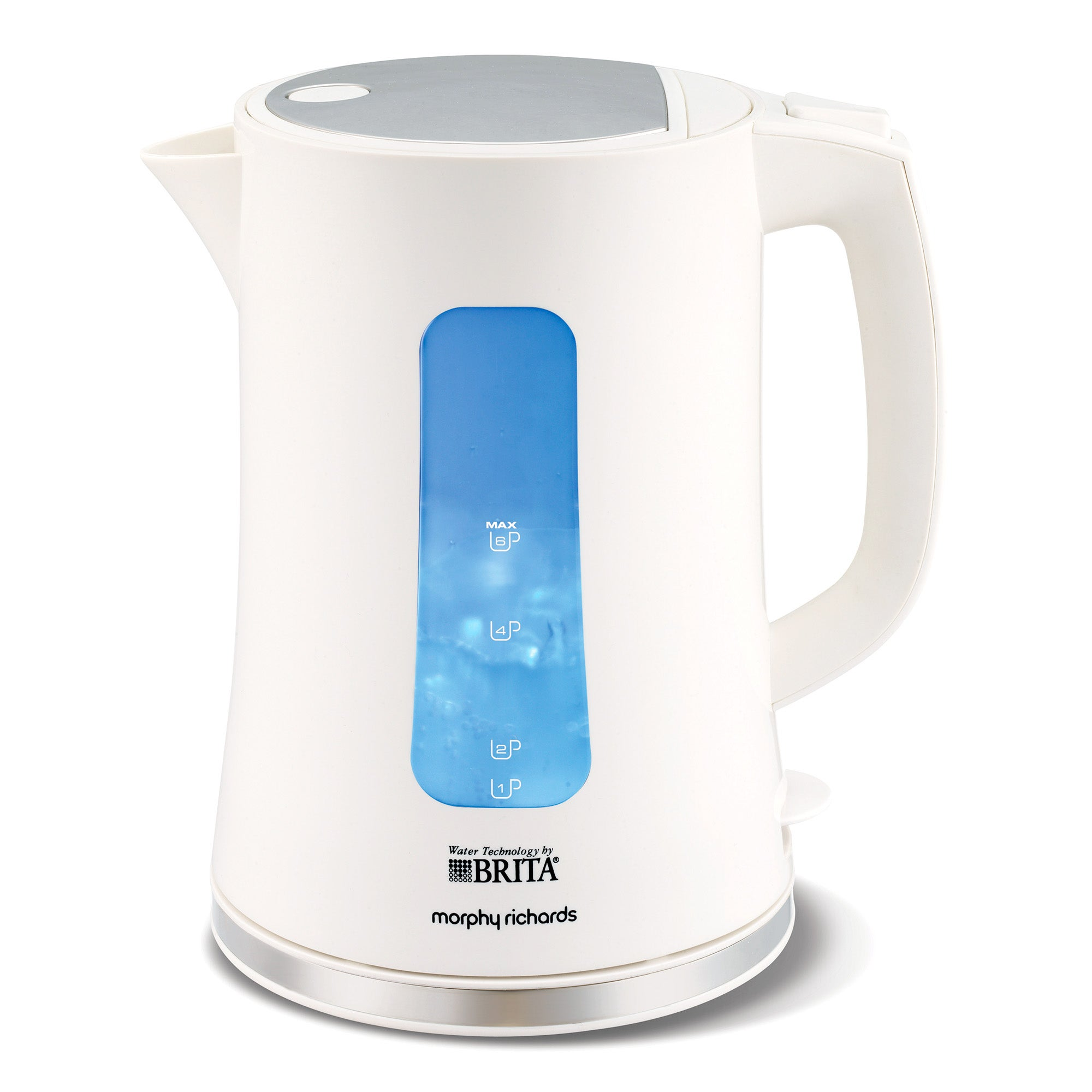 Morphy Richards Accents 120004 Brita Filter White Jug Kettle