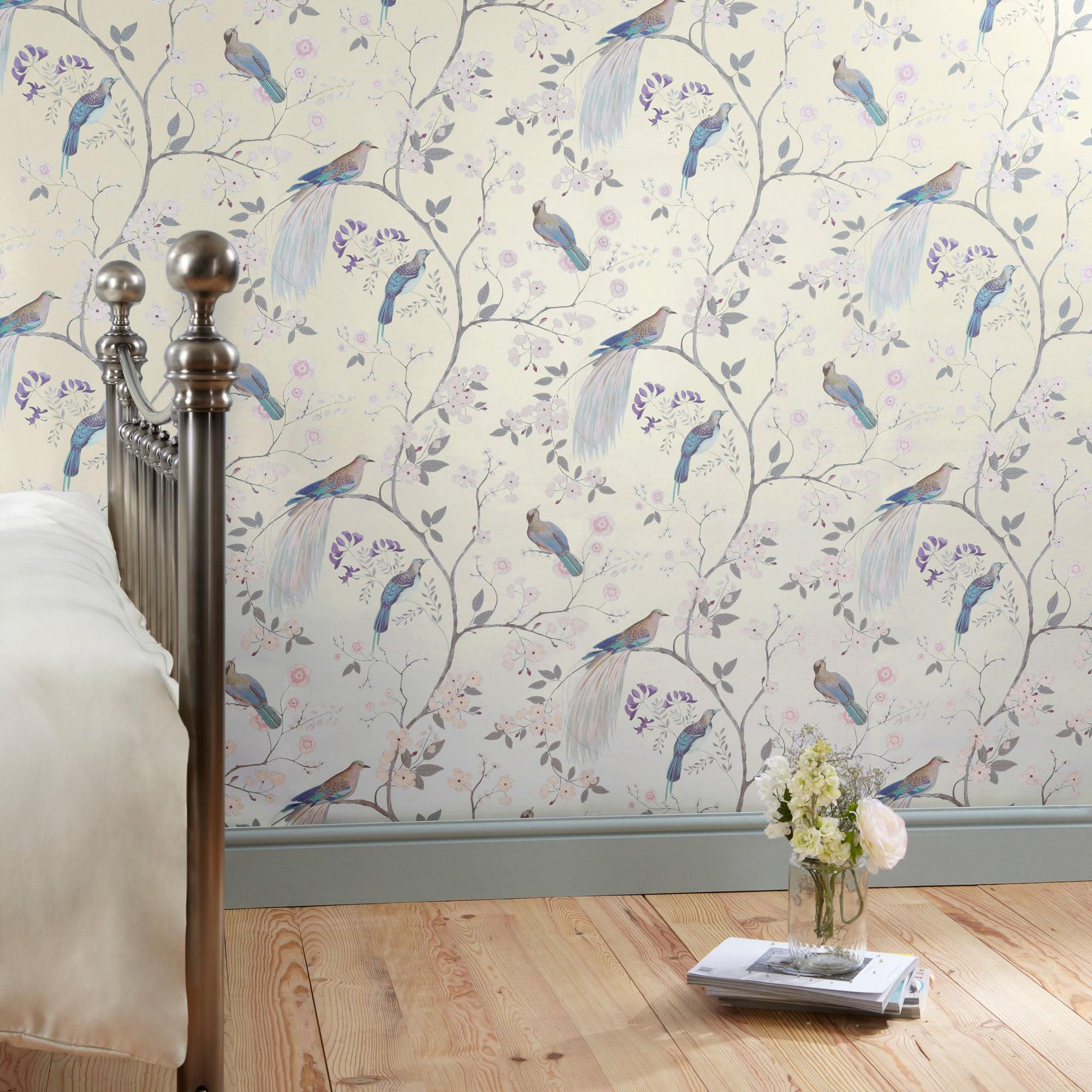 dorma natural maiya wallpaper dunelm. Black Bedroom Furniture Sets. Home Design Ideas