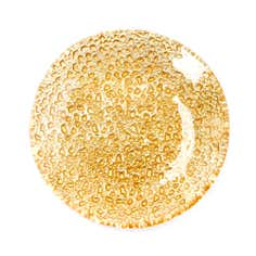 Metallic Gold Candle Plate
