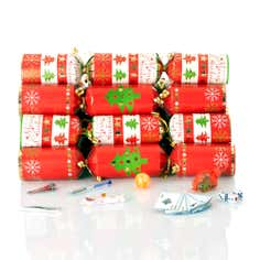 Christmas Tree Traditional Family Crackers