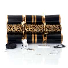 Ritz and Glitz Leopard Luxury Crackers