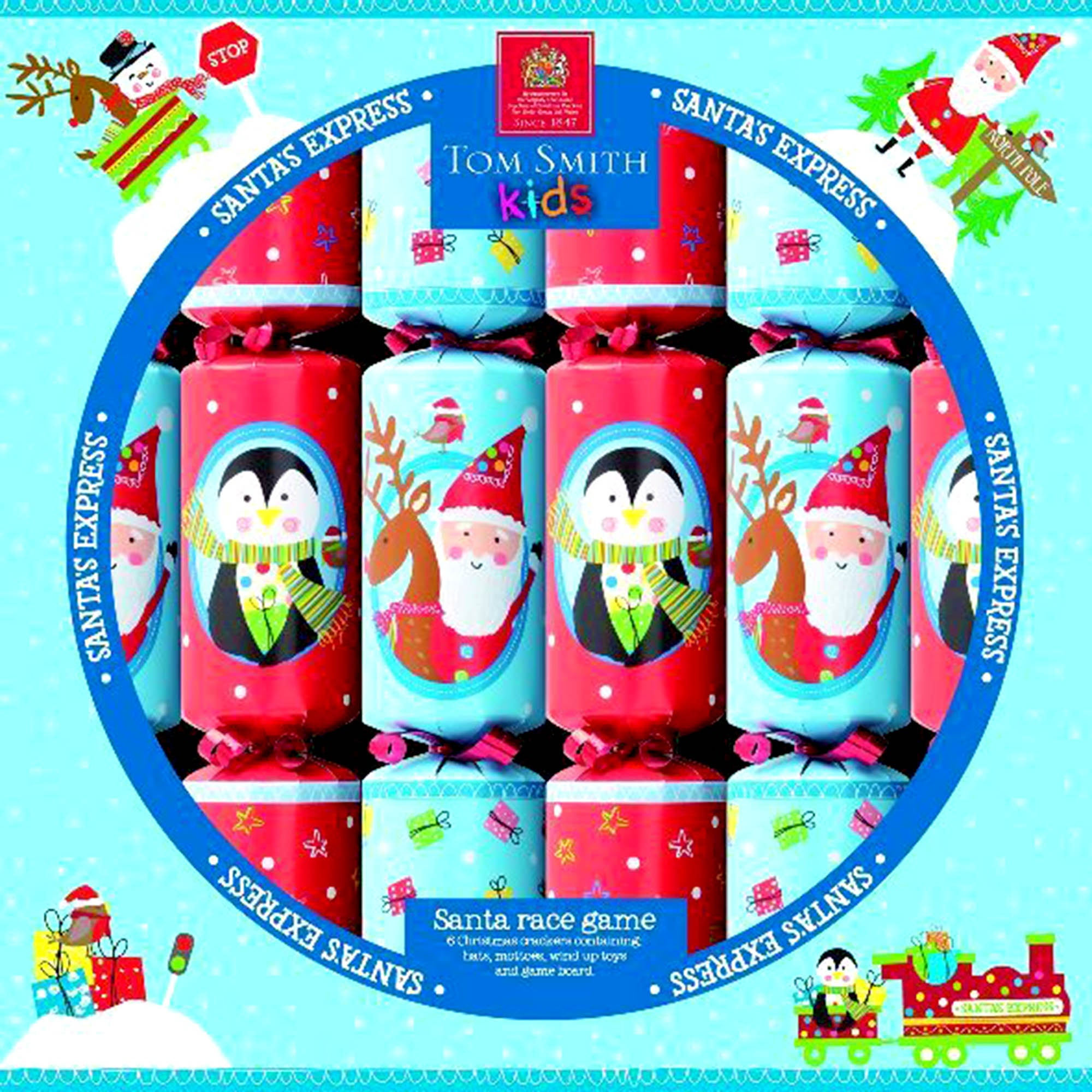 Racing Santa Crackers