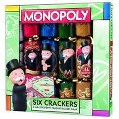 Hasbro Monopoly Crackers