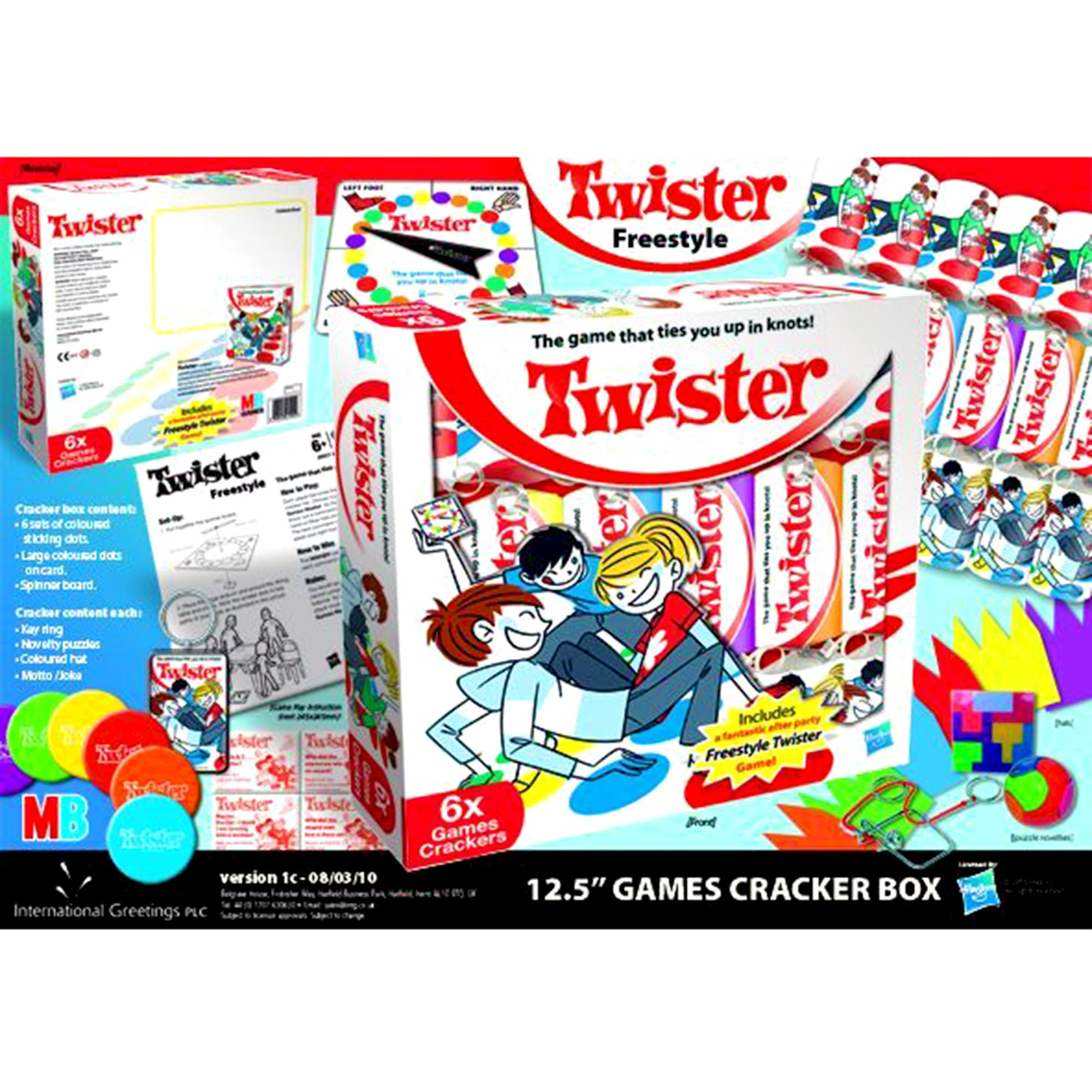 Hasbro Twister Crackers