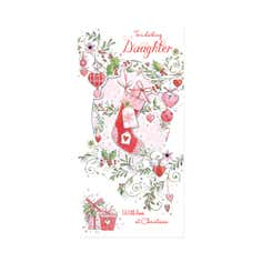 Daughter Blush Christmas Card
