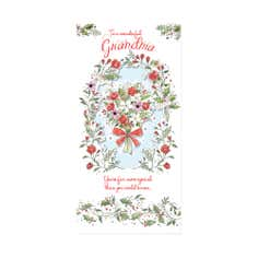 Blush Grandma Christmas Card