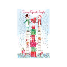 Daisy Patch Special Couple Christmas Card